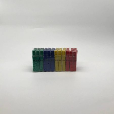 Μανταλάκια πλαστικά 24τμχ