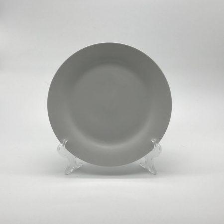 Πιάτο ρηχό άσπρο σκέτο