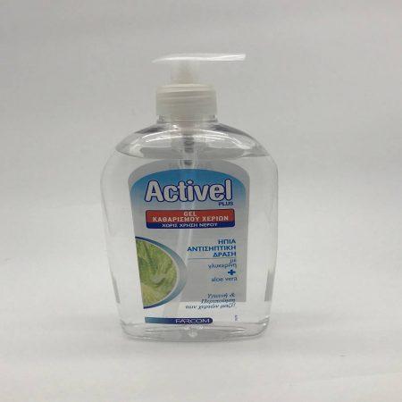 Αντισυπτικό Gel Activel Plus 500ml