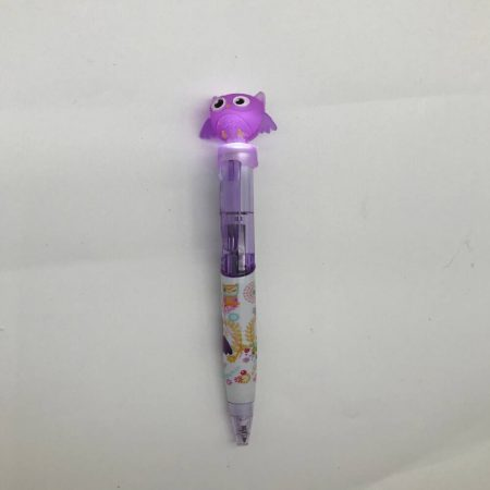 Στυλό με μωβ κουκουβάγια