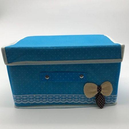 κουτί αποθήκευσης με ύφασμα