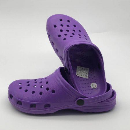 crocs μωβ