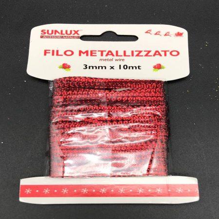 Κορδέλα Κόκκινη 3mm _ 10mt