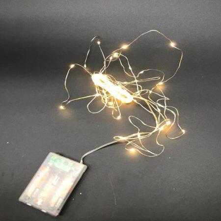 Φωτάκια Μπαταρίας Σύρμα Θερμό-Λευκό