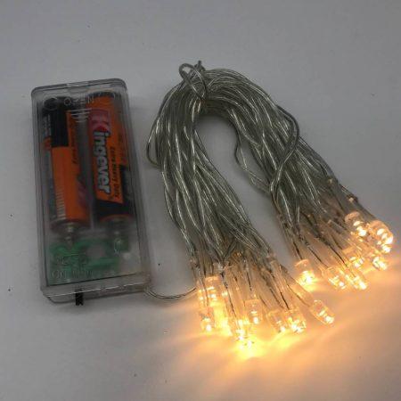 Φωτάκια Μπαταρίας 20 LED Θερμό-Λευκό