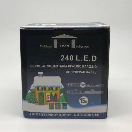 Φωτάκια 240 Θερμό-Λευκό 15m