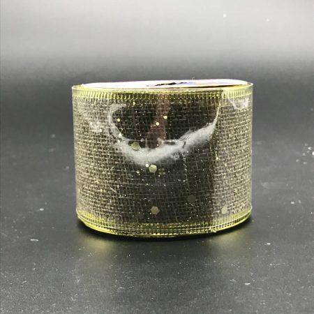 Κορδέλα Χρυσή 5cm*2.7M