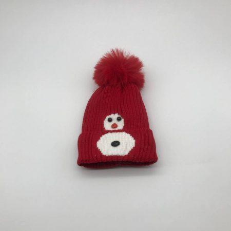 Σκούφος Κόκκινος με Άσπρο
