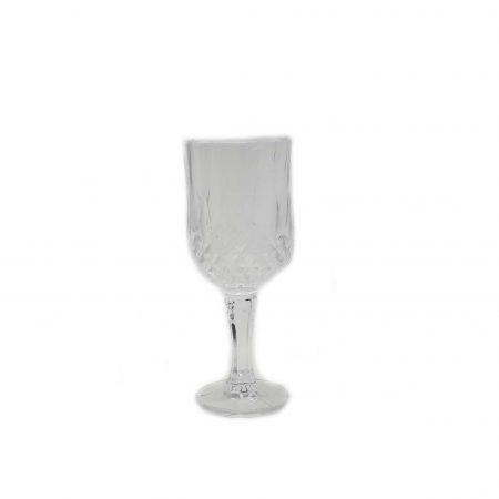 Ποτήρι Σκαλιστό Διάφανο του Κρασιού 142 ML