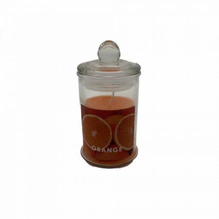 Αρωματικό Κερί Πορτοκάλι σε Βαζάκι
