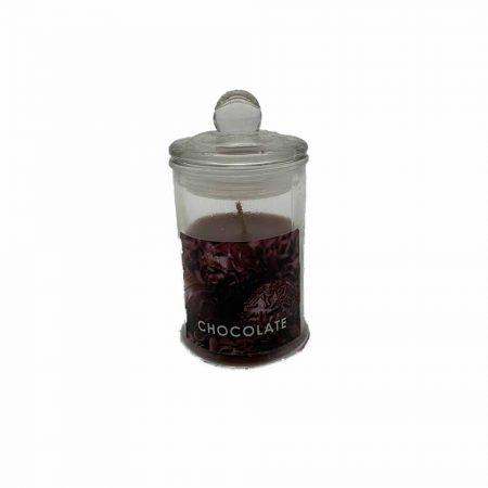 Αρωματικό Κερί Σοκολάτα σε Βαζάκι