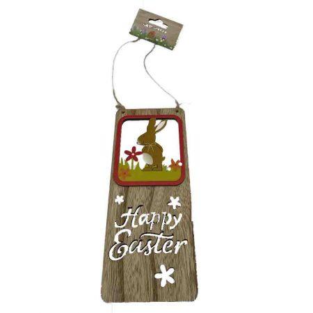 Ξύλινο Κρεμαστό Happy Easter