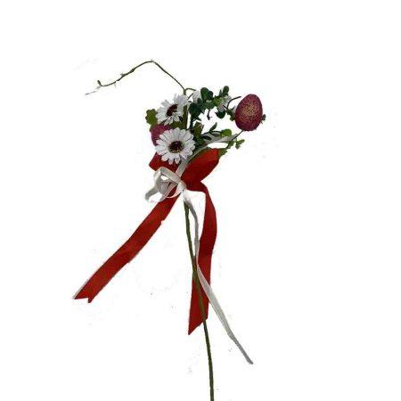 Πασχαλινό Λουλούδι με Αυγά Κόκκινα