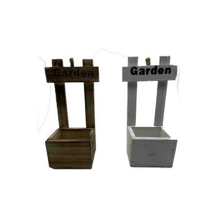 Ξύλινο Γλαστράκι Garden